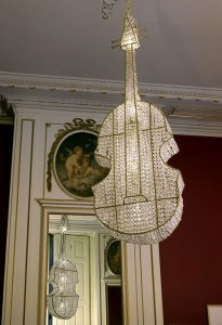 Chandeliers for The Rock and the Royal